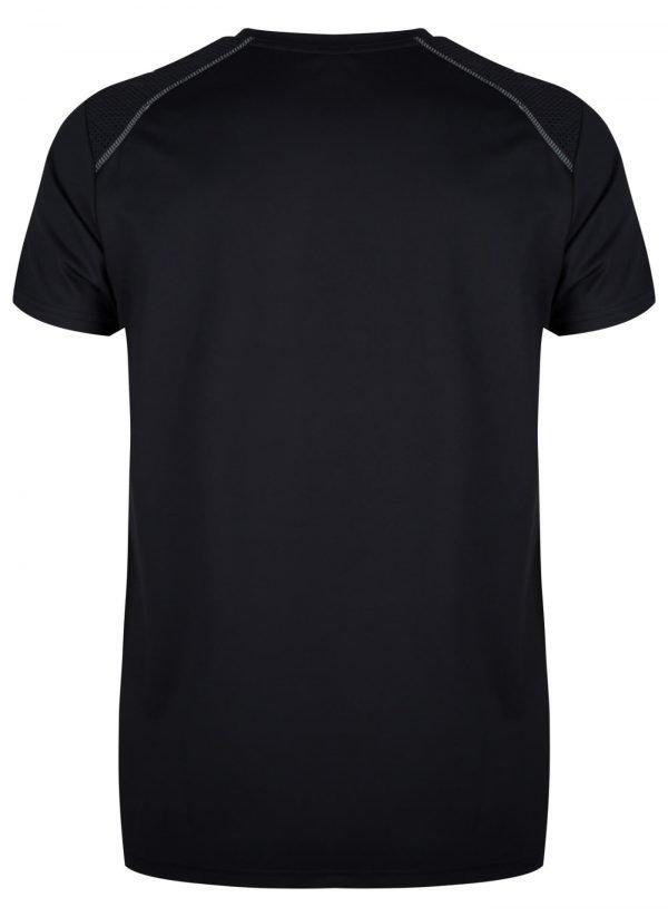Sportshirt Man Zwart Ademend Running Gh31001