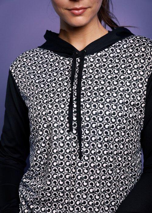 sport fitness hoodie prints