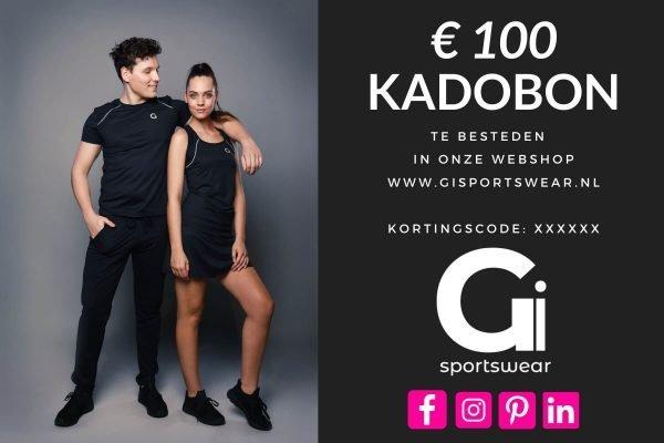 Gi Sportswear Kadobon 100 Euro